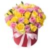 Коробка «Розы ассорти»